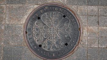 Montreal might have Canada's most beautiful manhole covers
